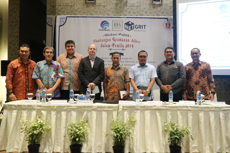 (Indonesia) Diskusi Publik dengan Tema: Tantangan Keamanan Siber dalam Pemilu 2019 – The Akmani Hotel Jakarta, Kamis 06 Desember 2018