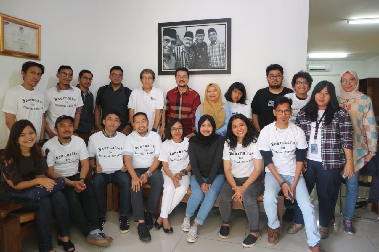 (Indonesia) Sekolah Pemilu untuk Para Jurnalis bagian ke 2 – Sekretariat NETGRIT, Rabu 03 April 2019