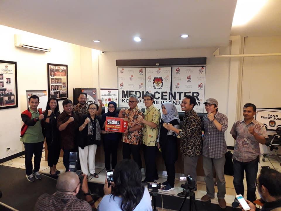 (Indonesia) Koalisi Masyarakat Sipil Untuk Pemilu Bersih – KPU RI, Jum'at 31 Agustus 2018