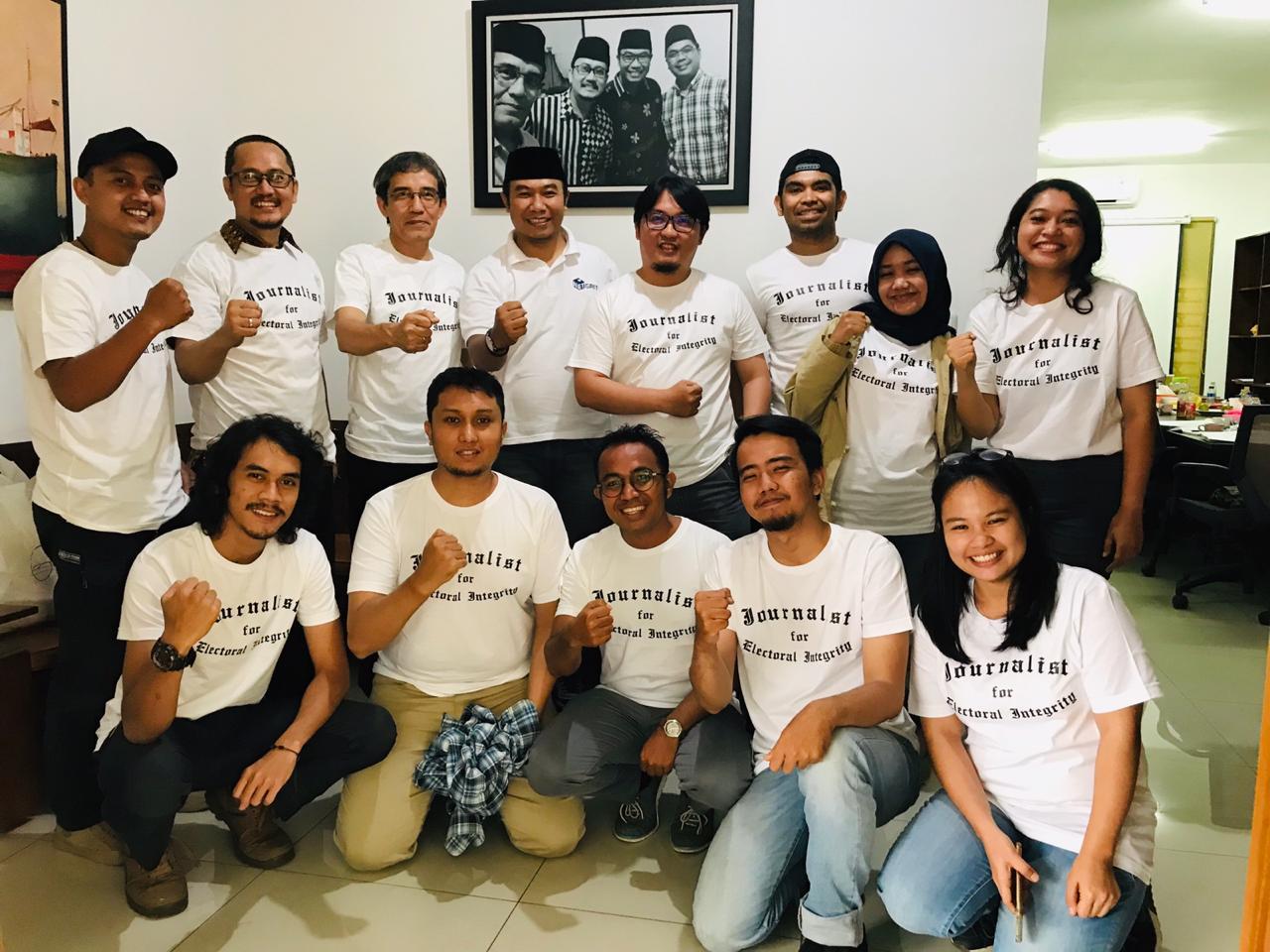 (Indonesia) SEKOLAH PEMILU UNTUK JURNALIS – SEKRETARIAT NETGRIT, RABU 21 NOVEMBER 2018