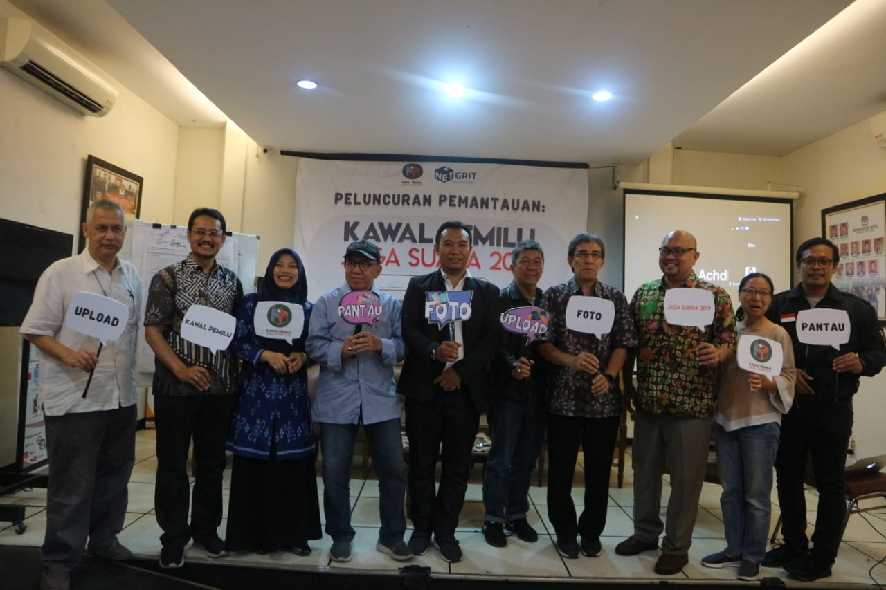 "(Indonesia) Peluncuran Program ""Kawal Pemilu – Jaga Suara 2019"" – Media Center KPU RI, Rabu 20 Maret 2019"
